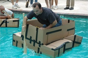 Team Building - Build Your Own Boat